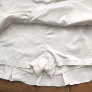 Nike Skirts - Ruffled Tennis Skirt   Nike size Small